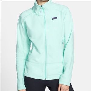 Patagonia slim fit jacket in pretty, vibrant color
